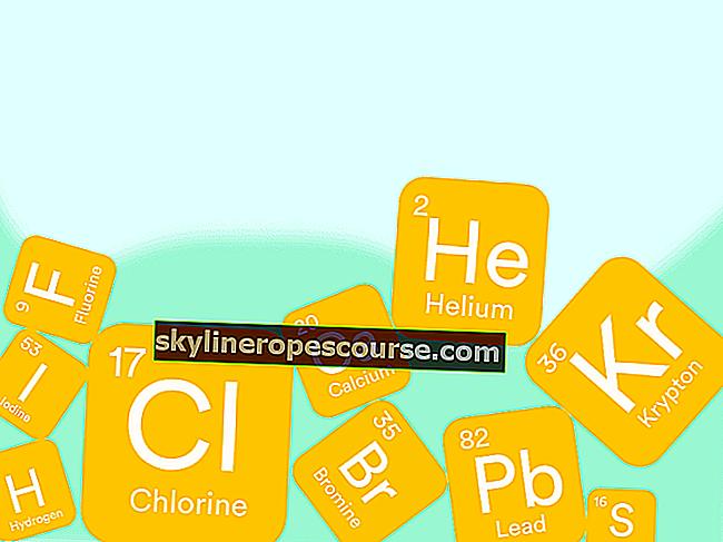 Wie man das Periodensystem der Elemente liest