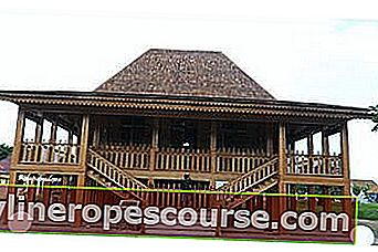 Limas House, South Sumatra Traditional House