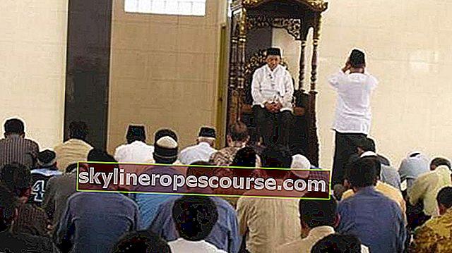 金曜日の説教の柱(完全)とその意味と手順