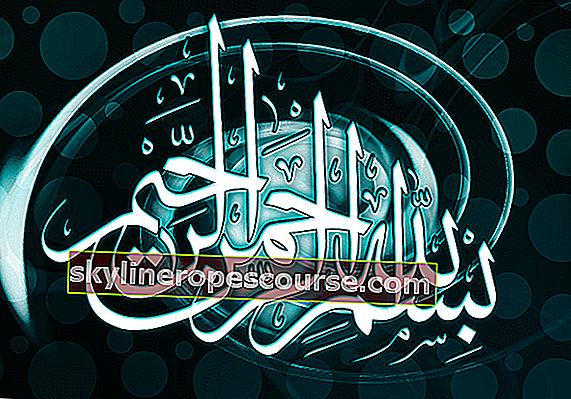 Bismillah Arabisch, Latein, Bedeutung und Erklärung