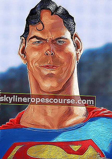 Christopher Reeve als Superman