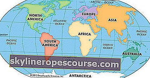 Wie haben sich die Kontinente gebildet?