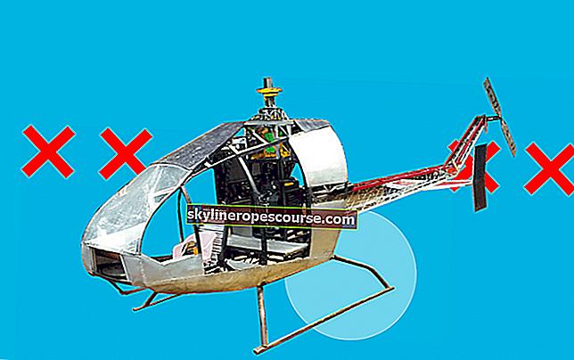 Helikopteri koje je izradio tokarski stroj u mjestu Sukabumi ne mogu letjeti (znanstvena analiza)
