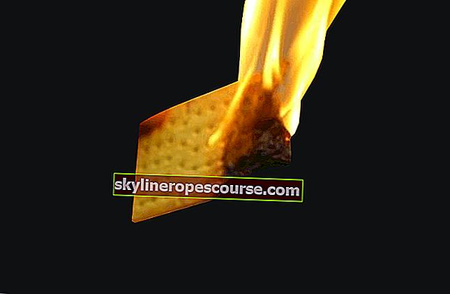 燃える食べ物は危険な食べ物を意味するのではありません